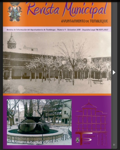 revista municipal Tembleque