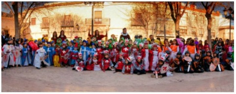 Desfile antesala del 7º CENTENARIO DE LA VILLA