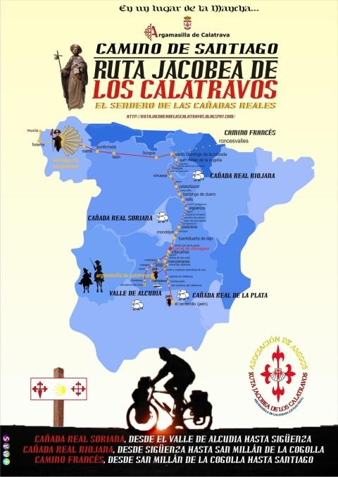 CARTEL 2011 RUTA JACOBEA DE LOS CALATRABOS