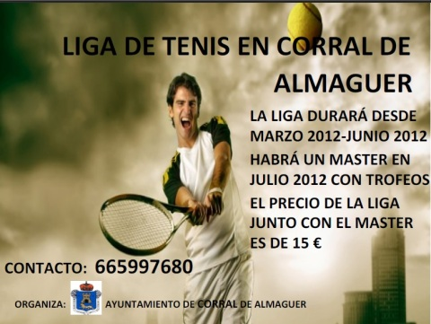 Liga de Tenis en Corral de Almaguer