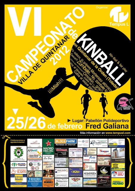 CAMPEONATO DE KIN-BALL VILLA DE QUINTANAR