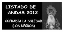 LISTADO ANDAS NEGROS