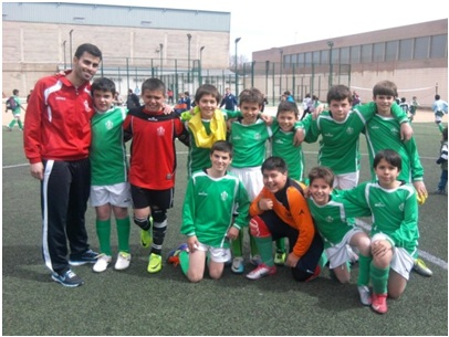 Futbol 7 Almaguer Alevin IMBATIDO EN LIGA