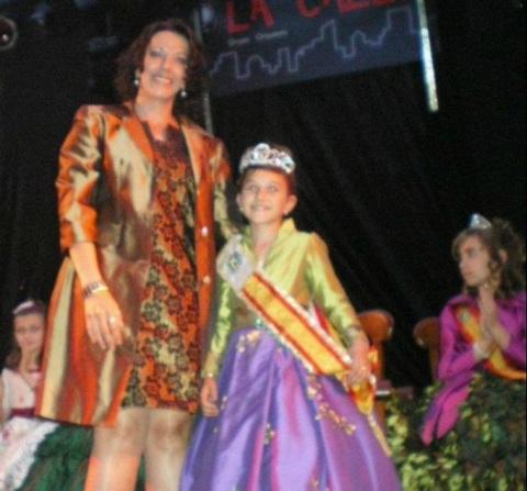 Coronación y primeras imagenes de las fiestas