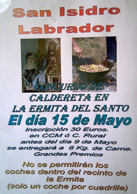 CALDERETA DE SAN ISIDRO