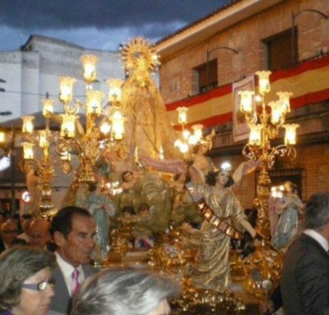 procesion de la Virgen de la Muela
