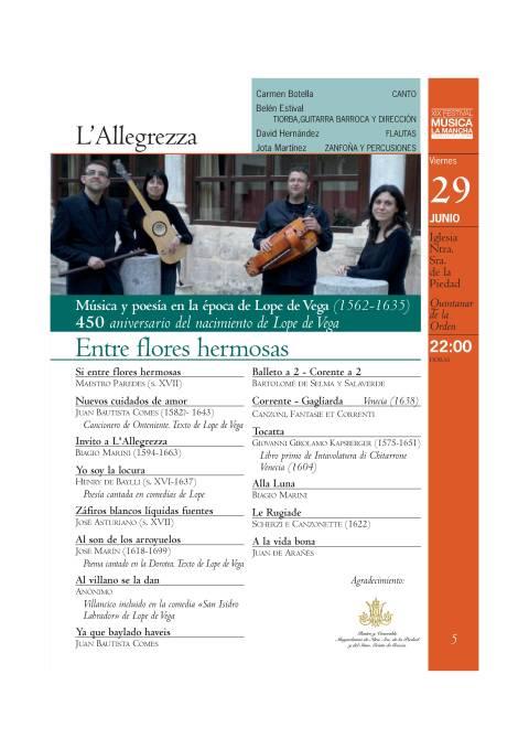 FESTIVAL DE MUSICA INTERNACIONAL DE LA MANCHA VIERNES