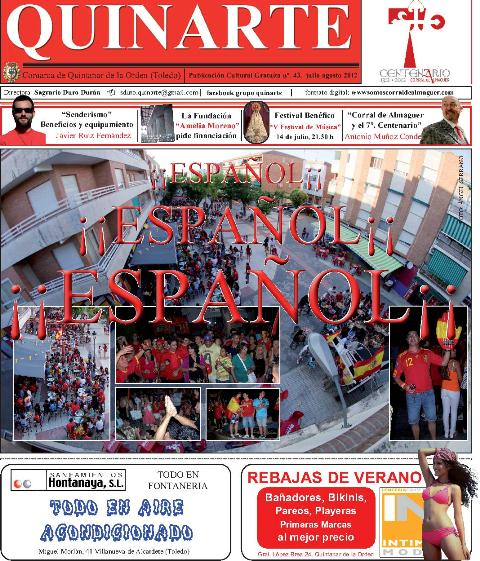 DESCARGA LA REVISTA QUINARTE JULIO