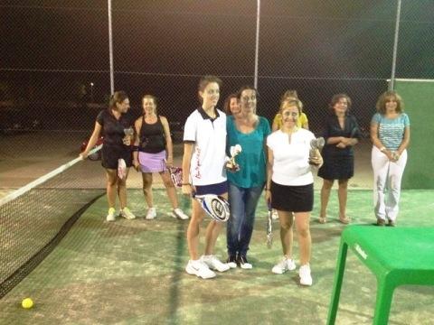 torneo pádel, ganadoras categoría A