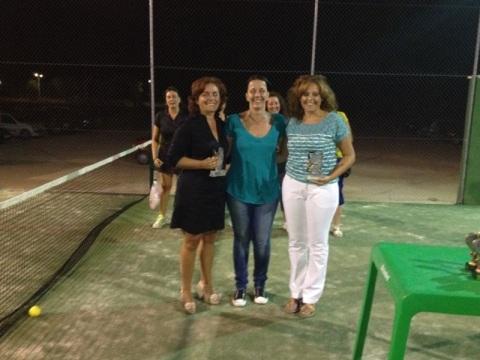 torneo pádel, ganadoras categoría B