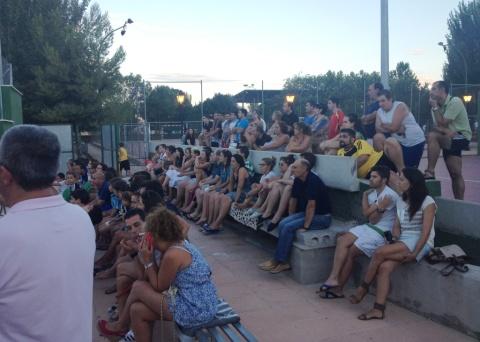 torneo pádel, público