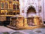 Sepulcro de don Alvaro de Luna en la catedral de Toledo