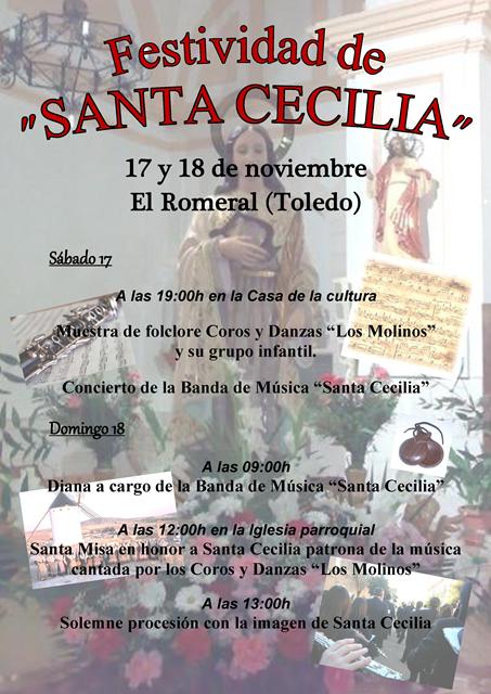 Programa SANTA Cecilia 2012 en El Romeral
