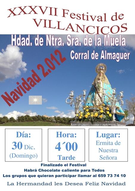 CARTEL DE VILLANCICOS 2012