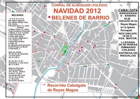 PLANO BELENES 2013 CORRAL DE ALMAGUER