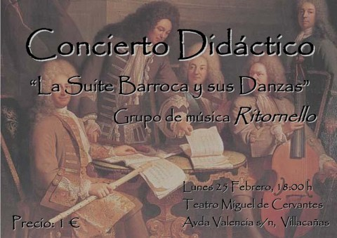 Concierto Didáctico Villacañas