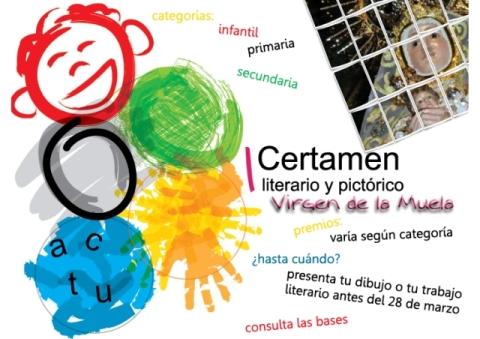 CERTAMEN LITERARIO Y PICTÓRICO VIRGEN DE LA MUELA