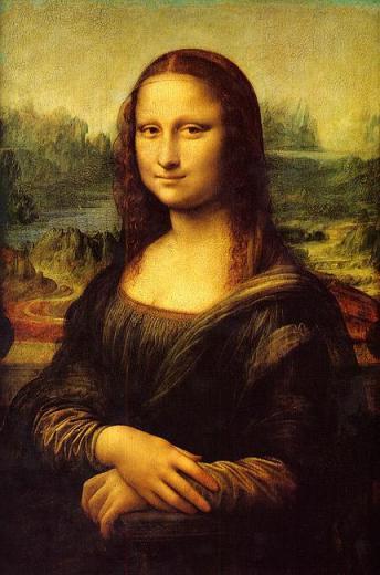 La Monna Lisa de Leonardo da Vinci (Museo del Louvre)