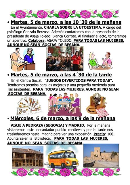 VILLA DE DON FADRIQUE SEMANA DE LA MUJER