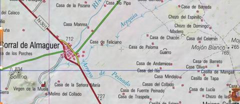 CORRAL DE ALMAGUER- LA CONFLUENCIA DE 3 VEGAS