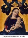 Virgen del convento de clausura